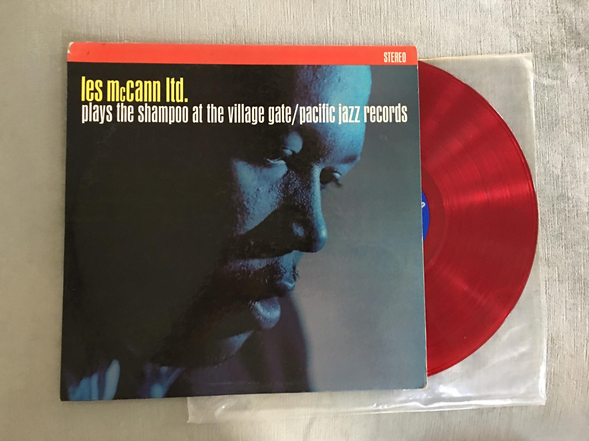 Les McCann Ltd. plays the Shampoo at the Village Gate red vinyl